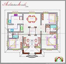 1100 Sq Ft House Remarkable 1100 Square Feet Single Storied House Plan Architecture