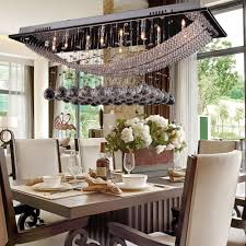 Modern Dining Room Ceiling Lights by Dinggu Luxuriant Crystal Led Flush Mount Light With 8 Lights