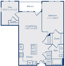frasier floor plan the porter del ray alexandria va apartment for rent bozzuto