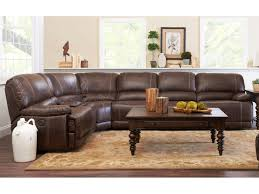 Klaussner Furniture Warranty Klaussner International Foster Six Piece Power Reclining Sectional