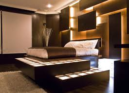 Beauteous  Medium Hardwood Bedroom Interior Inspiration Of Best - Home interior wall design 2