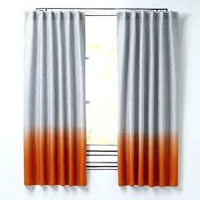 And Orange Curtains Grey And Orange Curtains Orange And Grey Curtains Burnt Orange