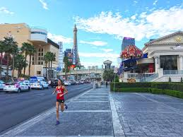 Map Of The Strip In Las Vegas by Running Routes Las Vegas The Strip Running Route