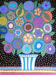 Items Similar To Art Print - 211 best flowers images on pinterest mexican folk art flower