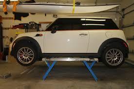 Basement Car Lift Charming Garage Lifter 7 2789d1333760442 Small Car Lift Img 1577
