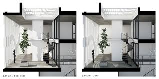 7x18 house ahl architects associates archdaily
