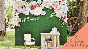 diy photo backdrop diy photo booth backdrop knock it the live well network