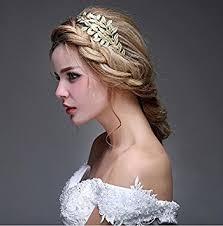 gold headpiece goddess gold leaf crown headpiece