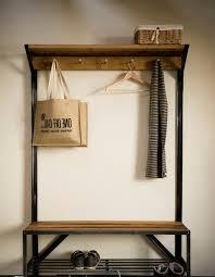 lodge hall bench coat rack wild wings hashtag digitals