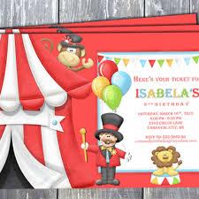 Circus Birthday Decorations Artfire Markets