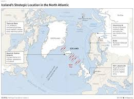 Iceland World Map Iceland Outsized Importance For Transatlantic Security The
