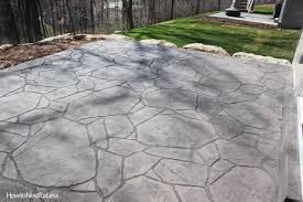 Images Of Concrete Patios Stamped Concrete Patios Upcoming Weekend Project How To Nest