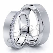 wedding rings his and hers matching sets wedding ring sets for him with lifetime warranty