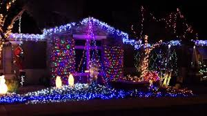 outdoor christmas lights dancing to music youtube