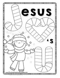 j is for jesus candy cane bible lesson for kids free printbles