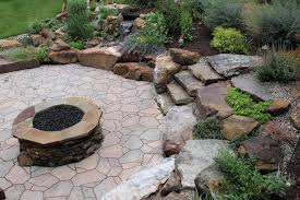 Glass Rocks For Fire Pit by Rock Fire Pits Landscape Modern With Fire Pit With Make Fire Pit