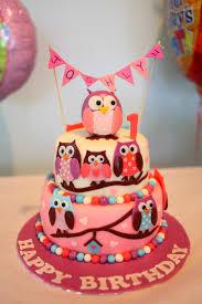 owl birthday cakes sherbakes pink owl birthday cake