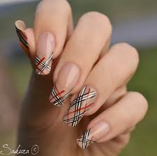 burberry french tips hair and makeup pinterest nail nail and