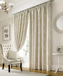 lille lined curtains in ivory free uk delivery terrys fabrics