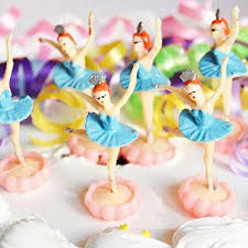 ballerina cake topper ballerina cake topper 6 count blue arts crafts