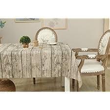 amazon com vintage wood grain tablecloth rogerray cotton u0026 linen