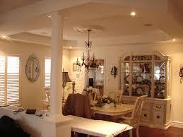 dining room recessed lighting interiors design