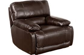 Brown Leather Reclining Sofa by Leather Recliners Swivel Power U0026 Rocker Recliner Chairs