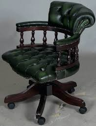tufted leather desk chair tufted leather office chair quick look checkbox office chair green