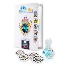 moonlite gift pack storybook projector for smartphones with 5
