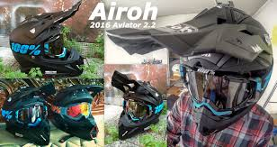 airoh motocross helmet airoh aviator 2 2 fox v1 helmet 2016 matte black youtube