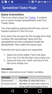 Spreadsheet Pictures Spreadsheet Tasker Plugin Android Apps On Play