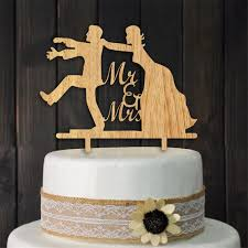 mr and mrs wedding cake toppers online shop wood mr mrs cake topper and groom wedding cake