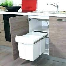 meuble cache poubelle cuisine cacher poubelle cuisine idées décoration intérieure