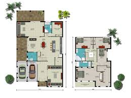 Sloping Block House Plans Berkeley Option 10