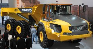 volvo dump truck goodyear develops otr tyres for volvo s biggest adt truck and