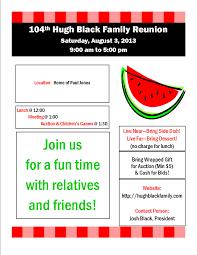 invitation to family reunion alesi info