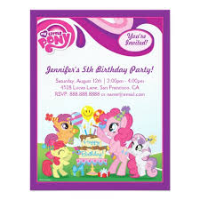 Mlp Birthday Card My Little Pony Gifts On Zazzle