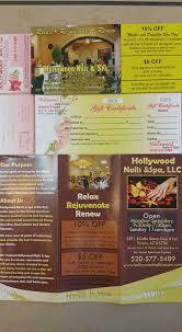 hollywood nails u0026 spa home facebook