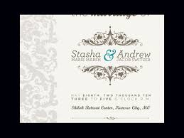 Wedding Invite Examples Wedding Design For Invitation 50 Examples Of Wonderfully Designed