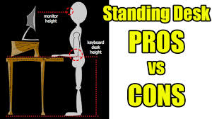 Standing At Your Desk Vs Sitting by Standing Desks The Pros Vs Cons I Have Not Sat Down In 25 Days