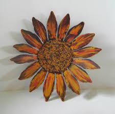 sunflower wall art metal popular items for sunflower wall art on