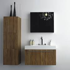 bathroom furniture sweet floating vanity with white under mount