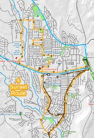 Maps Route St George