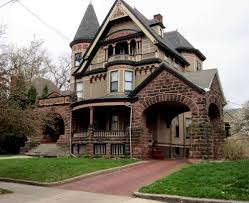 stone victorian rockford illinois queen anne houses