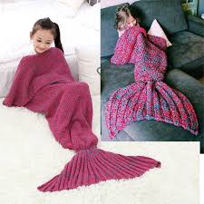 aliexpress com buy mermaid blanket pattern crochet mermaid tail