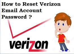how to reset a verizon email password how to reset a verizon email account password