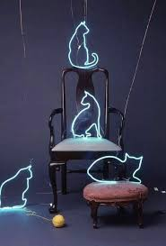 Neon Lights Home Decor Cat Neon And Light Image Inspiring Art Pinterest Light