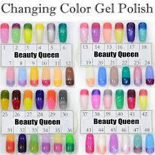 upgraded fast changing gel color chameleon nail gel polish soak