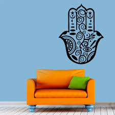online buy wholesale buddha wall murals from china buddha wall indian buddha hamsa hand wall mural living room vinyl art decals home interior design wall sticker