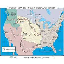 usa map louisiana purchase world history maps from kappa maps